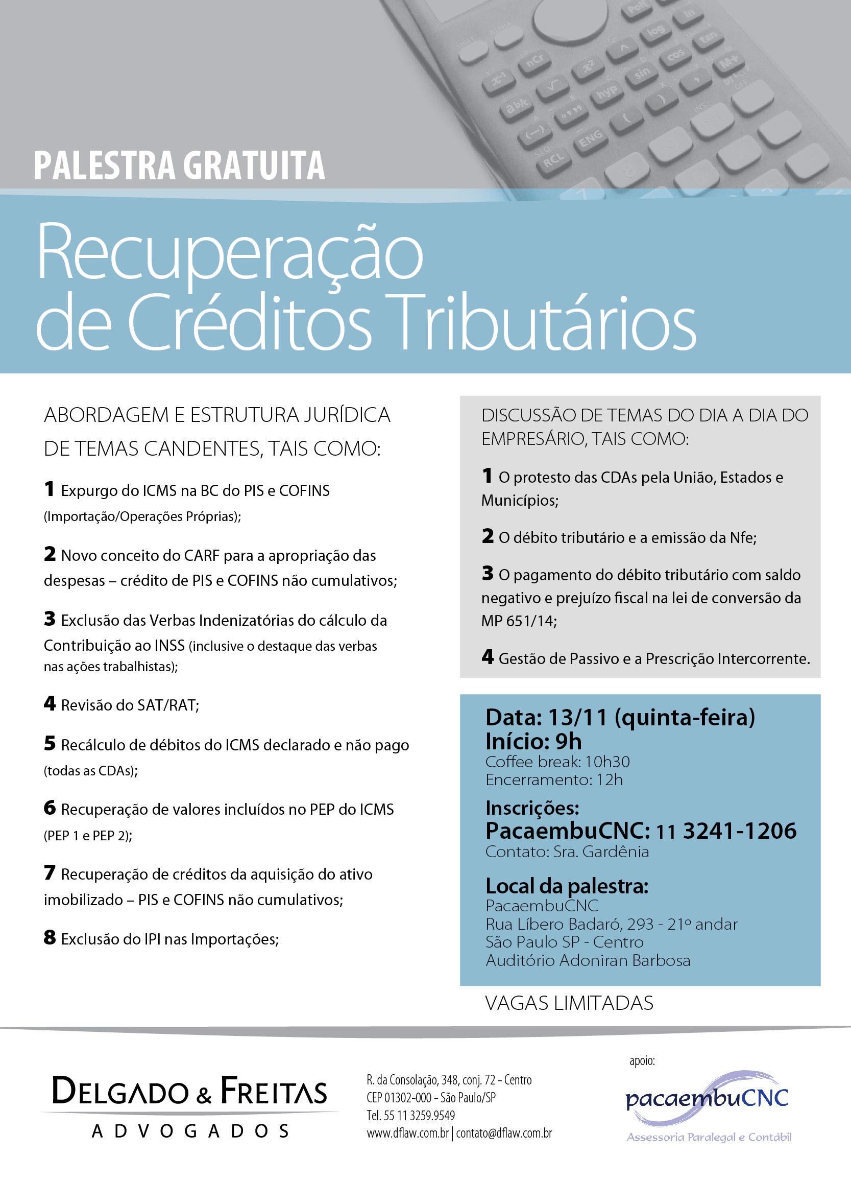 F660 DF Advogados news palestra pacaembucnc EVENTOS